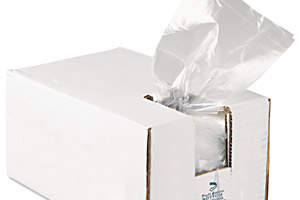 Bags with dispenser cartons